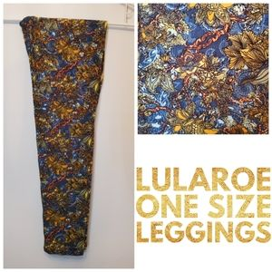 LEAVING THURS. EVE - NWT LLR OS Leggings